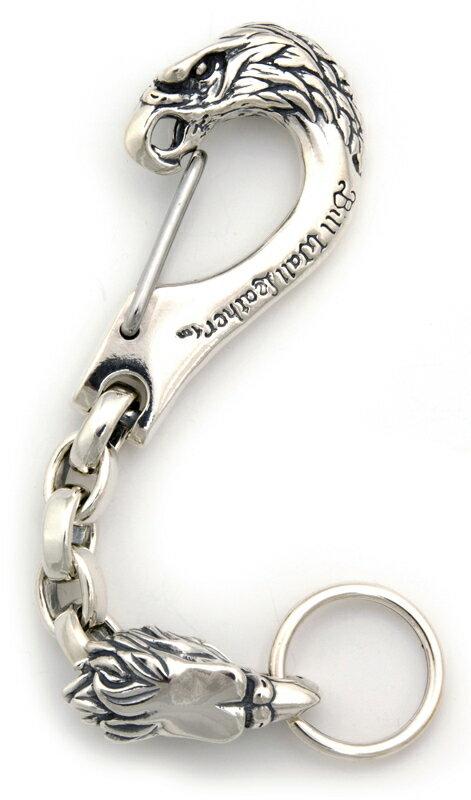 ビルウォールレザー BWL Bill Wall Leather KC770 カスタム イーグルクリップ w イーグルチェーン キーチェーン シルバー ウォレット ビルウォールレザー BWL Bill Wall Leather KC771- Eagle Clip Key Chain w  Chain link & Eagle BWL Custom Key Chains & Wallets☆高度に熟練しました☆