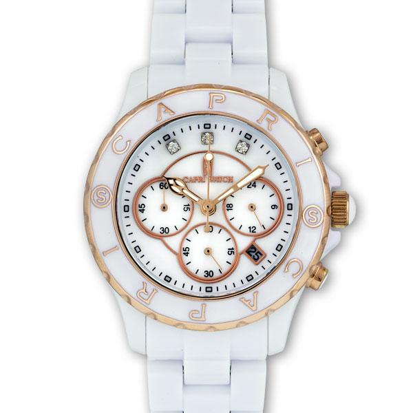 カプリ CAPRI Art.5008 腕時計 カプリ島 檀れい紹介 南イタリア アルベロベッロの旅 ヨーロッパ水風景 ペアでつけるとカップルが永遠に結ばれると言われているカプリの腕時計!