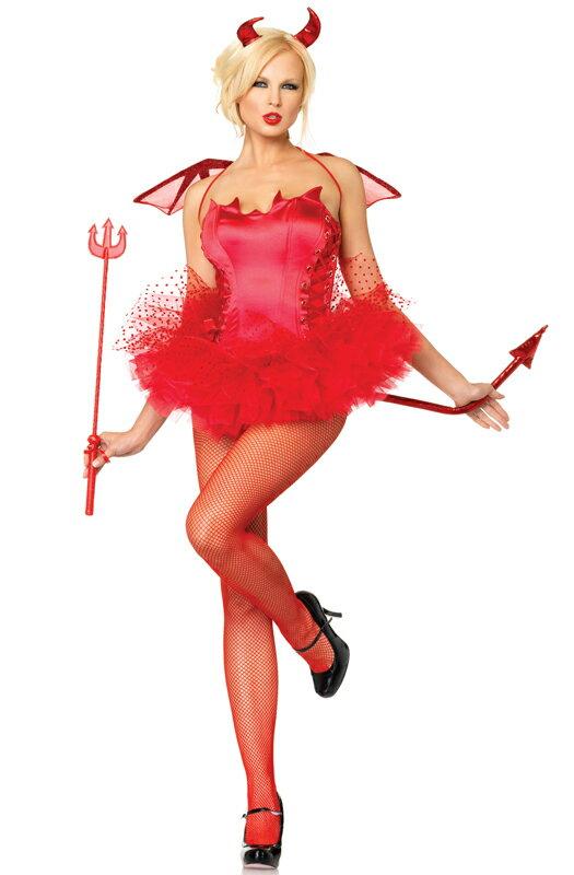 ハロウィン キャラクター コスプレ Naughty デビル 悪魔 Bustier 大人用 衣装 大人用 面白い 学園祭 文化祭 大学祭 コスチューム 仮装 変装:Mars shop