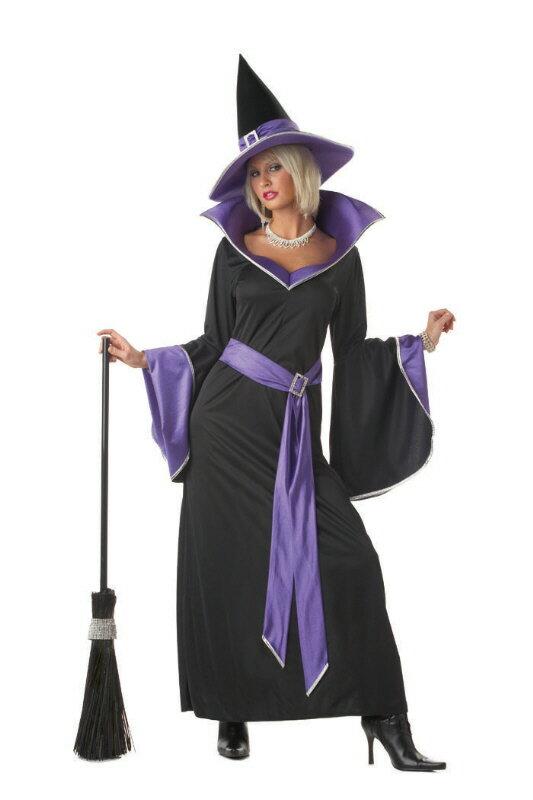 ハロウィン パーティ コスプレ Incantasia The Glamour Adult 魔女 Witch 衣装 大人用 面白い 魔女 学園祭 文化祭 大学祭 コスチューム 変装 仮装:Mars shop