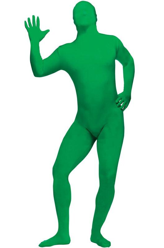 コスプレ コスチューム 全身タイツ スキンスーツ 爆笑 一発芸 大人用 (Green) 衣装 大人用 面白い 2013年 学園祭 文化祭 大学祭 ハロウィン パーティ 変装 仮装:Mars shop