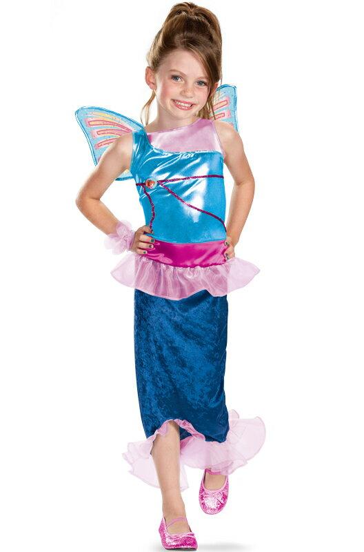 ハロウィン パーティ コスチューム Winx Club Bloom Mermaid 子供用 衣装 男の子 女の子 小学生 かわいい 面白い 妖精 Fairy 学園祭 文化祭 大学祭 コスプレ 変装 仮装:Mars shop