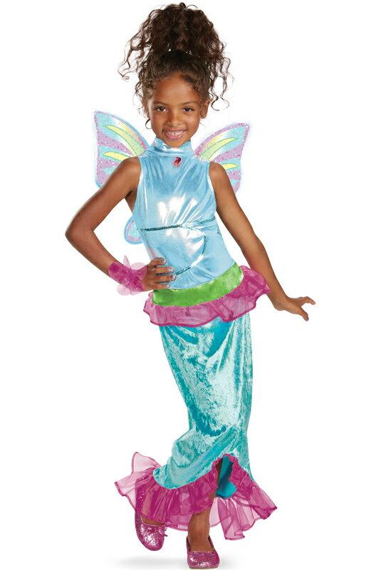 Winx Club Aisha Mermaid 子供用コスチューム/ハロウィン/コスプレ/衣装/仮装/男の子/女の子/子供/小学生/かわいい/面白い/妖精/Fairy/学園祭/文化祭/学祭/大学祭/高校/イベント:Mars shop