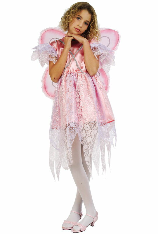 Pink Fairy 子供用コスチューム/ハロウィン/コスプレ/衣装/仮装/男の子/女の子/子供/小学生/かわいい/面白い/妖精/Fairy/学園祭/文化祭/学祭/大学祭/高校/イベント:Mars shop