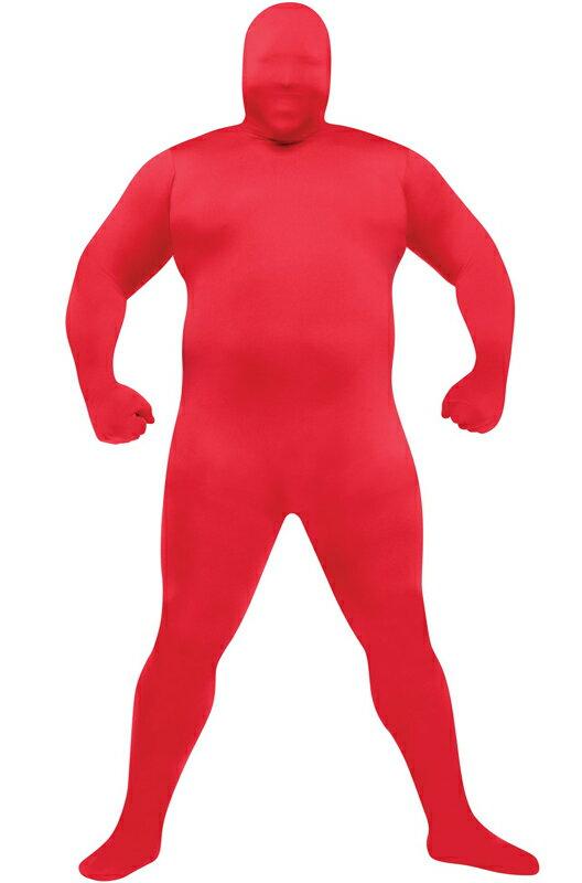 コスプレ コスチューム 全身タイツ スキンスーツ 爆笑 一発芸 Costume (Red) 衣装 大人用 面白い 大きいサイズ ビッグサイズ 2013年 学園祭 文化祭 大学祭 ハロウィン パーティ 変装 仮装:Mars shop