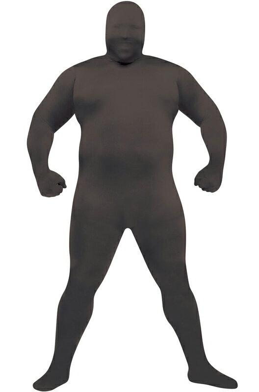 ハロウィン キャラクター コスプレ 全身タイツ スキンスーツ 爆笑 一発芸 Costume (Black) 衣装 大人用 面白い 大きいサイズ ビッグサイズ 2013年 学園祭 文化祭 大学祭 コスチューム 仮装 変装:Mars shop