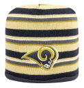 Eclipse Rams Knit Edge Pull On Gold Beanies & Pull Ons 帽子 Gold