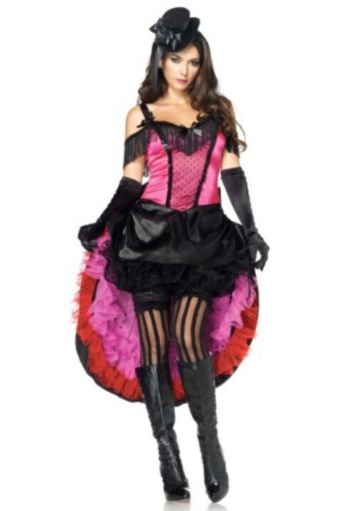 コスプレ コスチューム CAN CAN ガール 大人用 レディス 女性用 衣装 ドレス ワンピース 衣装 学園祭