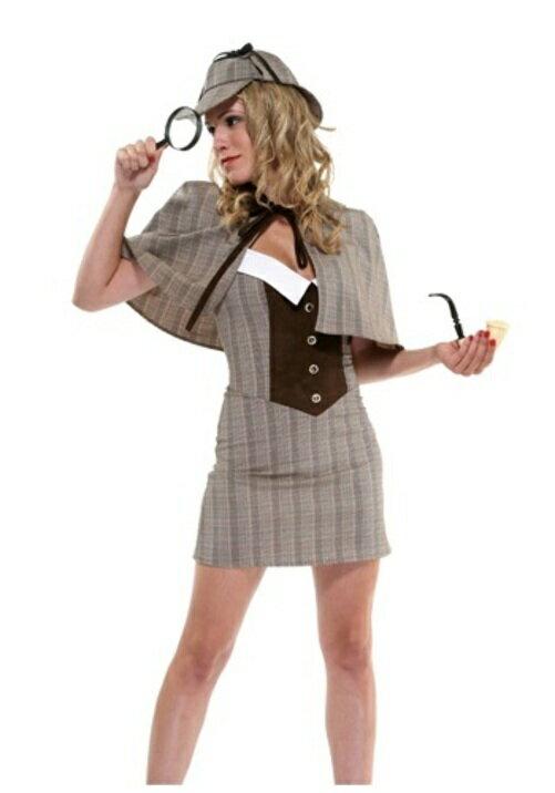 ハロウィン コスプレ セクシー 探偵 大人用 レディス 女性用 衣装 ドレス ワンピース 衣装 学園祭 文化
