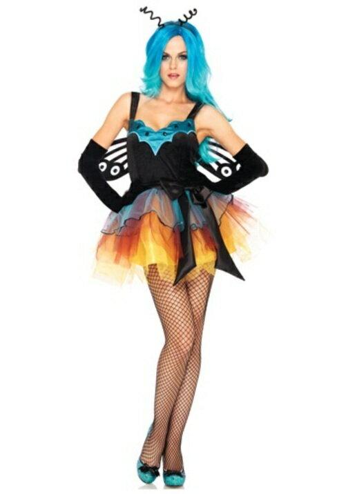 ディズニー コスプレ ハロウィン FANTASY BUTTERFLY 妖精 フェアリー 大人用 女性用 衣装 ドレス ワンピース ディズニーランド 衣装  学園祭 文化祭 コスチューム Disney 仮装 変装:Mars shop