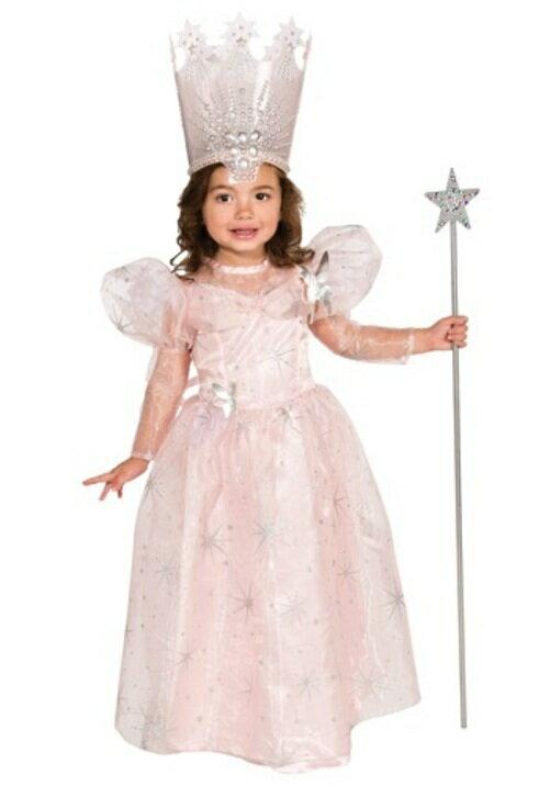 ハロウィン パーティ コスチューム GLINDA THE GOOD 魔女 子供用 衣装 ドレス ワンピース ディズニーランド 衣装 学園祭 文化祭 コスプレ 変装 仮装:Mars shop