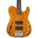 G&L ASAT Semi-Hollow Electric Bass Guitar Honeyburst ベースギター エレクトリックベース