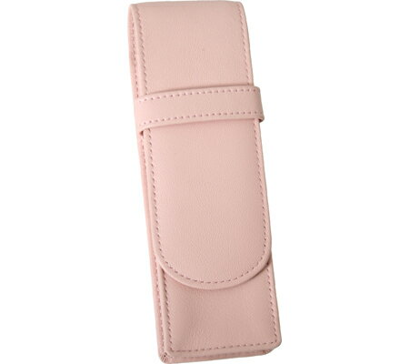 ロイス レザー Royce Leather Double Pen Case 913-5 - Carnation Pink Leather アクセサリー Royce Leather Double Pen Case 913-5 - Carnation Pink Leather【スパークリング】