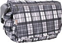 JWorld New York Campus Messenger Bag - Tartan Grey バッグ 鞄 かばん...