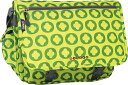 JWorld New York Terry Messenger - Lime Logo �Хå� �� ���Ф� ��å��󥸥㡼�Хå�