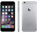 【エントリーでポイント5倍 12/11 1:59迄】Apple iPhone6 16GB スペースグレイ SIMフリー整備済製品 格安SIM 対応 アイフォン6 space gray 海外版