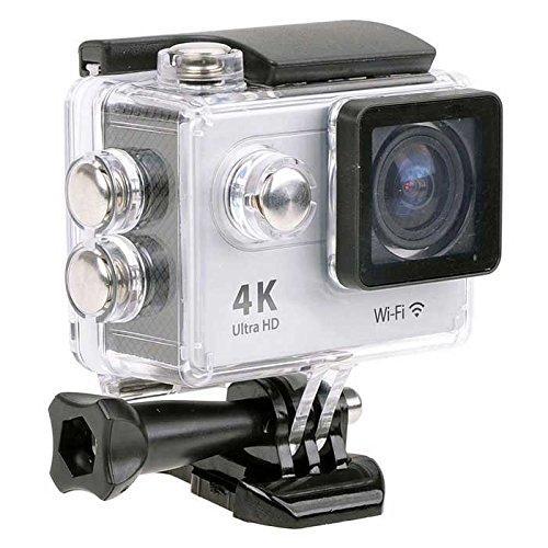 3日間限定ポイント10倍!☆期間限定ポイント10倍☆【Wi-Fi対応】4Kアクションカメラ 広角170°防水スポーツカメラ Sports Action Cam ホワイトMARSHAL MAL-FW