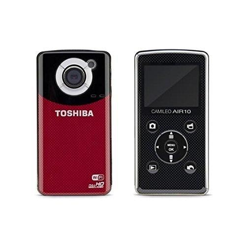 3日間限定ポイント10倍!☆値下げしました!東芝 TOSHIBA ビデオカメラCamileo Air10 PA3906U-1C1R【SDカード4GB付き】wi-fi HDMI フルHD コンパクト