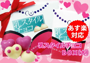 おっぱい チョコレート スタイル ボックス バレンタイン