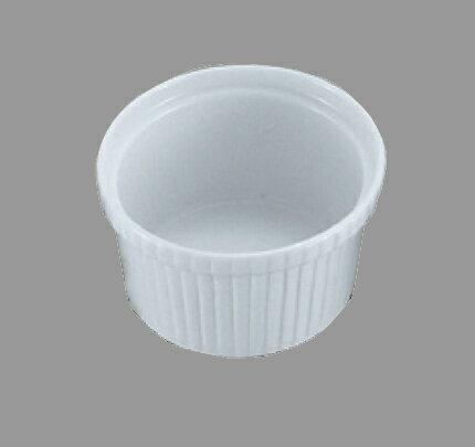 陶器スフレ型 8cm(ココットカップ)