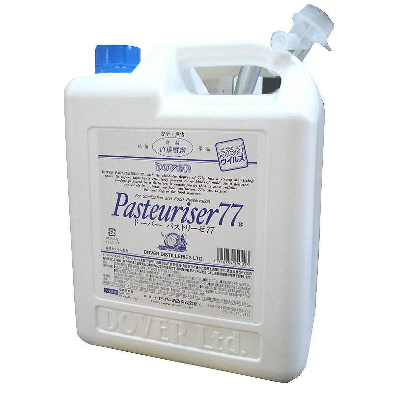 【アルコール消毒液・詰め替え用】パストリーゼ77 5L(Dover・ドーバー)