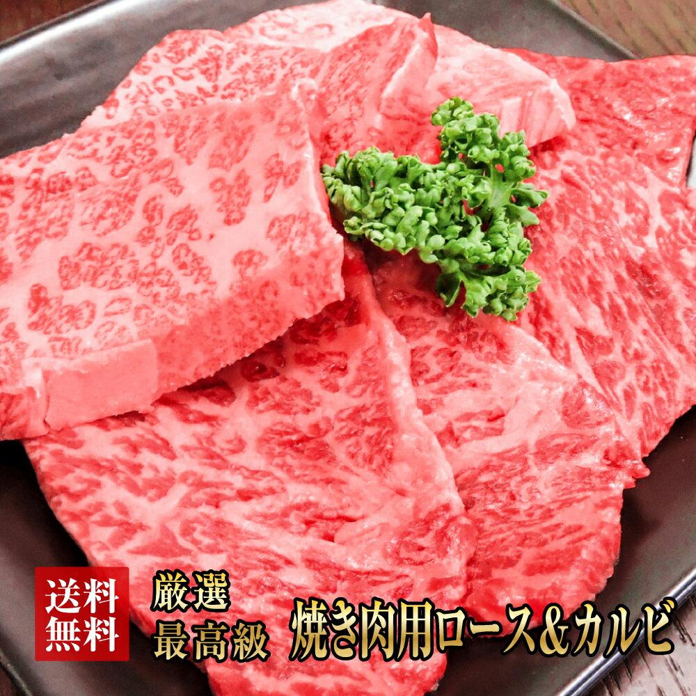 送料無料【阿波黒牛】高級霜降り極上 カルピ&ロー...の商品画像