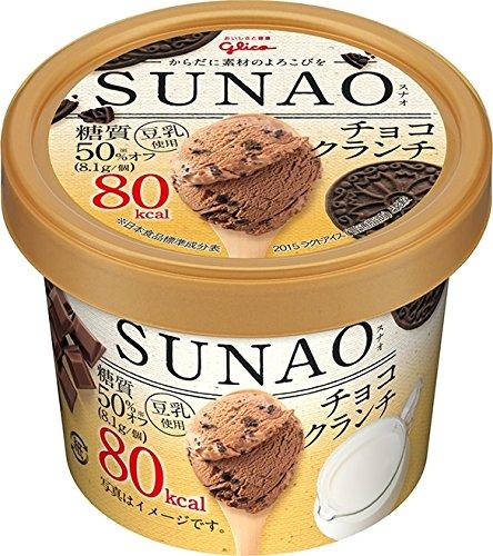 グリコ SUNAO チョコクランチ カップ120ml ×36個入