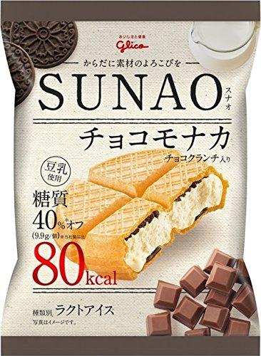 グリコ SUNAO チョコモナカ 82ml ×36袋入