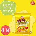 オトギ しなやかチーズラーメン4袋  ◆OTOGI 輸入食品 輸入食材 韓国食材 韓国料理 韓国土産 乾麺 インスタントラーメン 辛くない