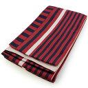 浴衣 帯 浴衣帯 半幅帯 ゆかた帯 レディース 単品 赤紺×ピンクストライプ 女性レディース 半巾帯 浴衣帯 細帯 オリジナル ksクワ