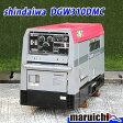 新ダイワ 二人用溶接機□発電機 建設機械 DGW310DMC 中古□4H67