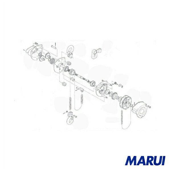 キトー CB025・CB030用部品 フックラッチ組 1個 【DIY】【工具のMARUI】