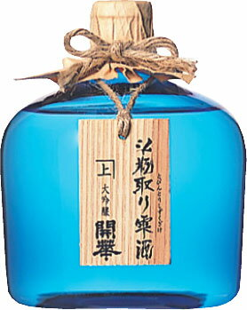 【クール便送料無料6本入りセット】開華 「斗瓶取り雫酒」 青瓶 大吟醸 720ml