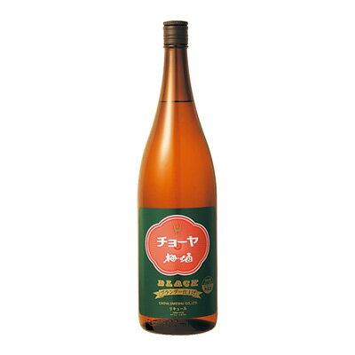 【送料無料6本入りセット】チョーヤ梅酒 ブラック 1800ml アルコール分:14%