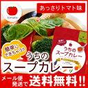 札幌の食卓 うちのスープカレー(あっさりトマト) 2食(50g×2袋入) MIXスパイス1g×2袋付