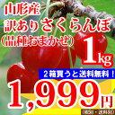 【訳あり】山形産さくらんぼ(品種おまかせ)1kg