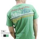 PIKO/ピコ ?スラブ天竺素材? 擦れパネルプリント 半袖Tシャツ【リゾート/ビーチ/ファイン/ユ