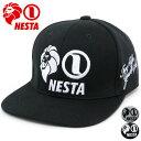NESTA BRAND ネスタブランド 帽子 ベースボールキャップ メンズ キャップ レディース キャップ 男女兼用 帽子 シンプル おしゃれ カジュアル 日よけ 帽子 キャップ 黒 刺繍 ギフト プレゼント マルカワ