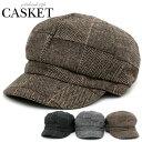 帽子 メンズ 冬 ポリエステル グレー/ブラック/ブラウン