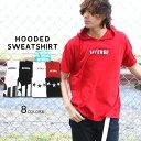 Tシャツ メンズ 夏 ストリート プリント 半袖 パーカー ホワイト/ブラック/レッド M/L/LL