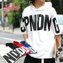 B ONE SOUL Tシャツ メンズ 夏 ビッグ ロゴ プリント 半袖 パーカー ホワイト/ブラック/レッド/ブルー M/L/XL