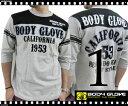 BODY GLOVE / ボディーグローブ フットボール分袖Tシャツ【Mサイズ・Lサイズ・LLサイズ】