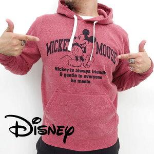 ディズニー ミッキーマウス カレッジ プリント プルオーバー プルパーカー パーカー