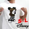 再入荷 送料無料 Walt Disney ディズニー ミッキー 11412133 〜天竺素材〜 全2色! 『豹柄』パーカー着用! ミッキーマウス半袖Tシャツ 【マルカ【lucky5days】