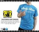 楽天ランキング入賞BODY GLOVE/ボディーグローブ〜ドライ素材〜 カリフォルニアプリント 半袖Tシャツ