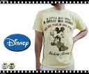 DISNEY/ディズニー 〜天竺素材〜 『ミッキーマウス』 スコップで掘る掘るプリント 半袖Tシャツ【サンリオ/ディズニー/ミッキー/MICKY/ミニー/ウォルトディズニー】