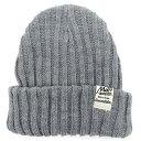 帽子 メンズ 冬 アクリル100% グレー/ブラック/ネイビー