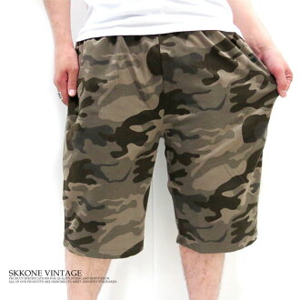 "Rakuten ranking Prize! BARCEDOS バルセドス camouflage pattern mini back hair military sweatshirts ""shorts"""