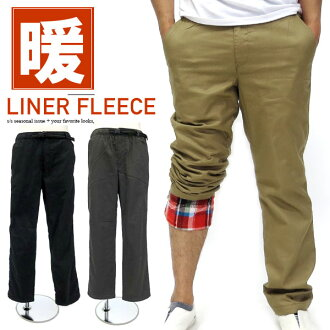 溫暖的麵包斜紋棉布褲男子背的羊毛褲保暖褲被打褶作物奇諾褲子褲子褲子羊毛褲溫暖麵包冬季褲