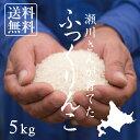 【北海道の米屋しか手に入らない】瀬川さんが育てた「ふっくりんこ」 5kg 29年産 北海道深川市音江町稲田産  【送料無料】※沖縄・離島を除く